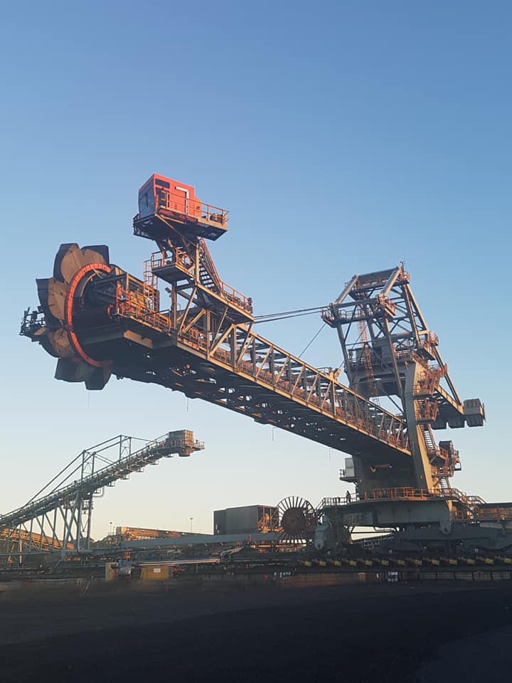 RBCT SAXENI build stacker Reclaimer